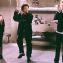 Horatio Sanz, Eddie Griffin and D.J. Qualls in Columbia's The New Guy - 2002