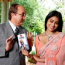 Anupam Kher with Shriya Saran stars in The Other End of the Line.