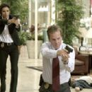 Eva Longoria (Jill Marin) and Kiefer Sutherland (David Breckinridge) in 20th Century Fox's The Sentinel