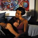 Alexandra Paul and Cynda Williams as Leslie and Lisa in TRU LOVED. - 454 x 678