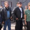 L to R: Martin Lawrence as Bobby, Tim Allen as Doug, John Travolta as Woody and William H. Macy as Dudley in Touchstone Pictures' Wild Hogs - 2007