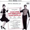 1963 Broadway Cast LP of TOVARICH Starring Viven Leigh