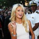 Paris Hilton Salutes the Troops