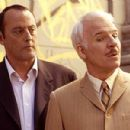 Jean Reno as Ponton and Steve Martin as Jacques Clouseau in a scene from the film.