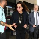Ozzy Osbourne is seen at LAX