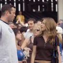 Gary (Vince Vaughn) and Brooke (Jennifer Aniston) in the romantic comedy The Break-Up.