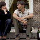 "Sidse Babett Knudsen (""Helene"") and Mads Mikkelsen (""Jacob"") in a scene from AFTER THE WEDDING directed by Susanne Bier. An IFC Films release."
