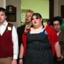 Ash Christian (Rodney), Joe Flaten (Joey), Ashley Fink (Sabrina) and Robin DeJesus (Rudy) in Fat Girls - 2007