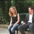 Julie Delpy and Ethan Hawke star as Celine and Jesse in Richard Linklater's BEFORE SUNSET, a Warner Independent Pictures release.