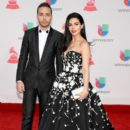 Prince Royce and Emeraude Toubia- The 17th Annual Latin Grammy Awards - Show - 394 x 600