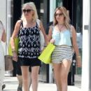 Ashley Tisdale Shopping In Beverly Hills