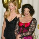 Mira Sorvino and Coleen Atwood attends The 75th Annual Academy Awards - Press Room (2003) - 409 x 612