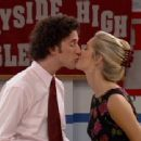 Christina Moore and Dustin Diamond