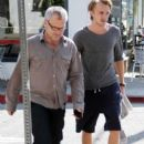 Tom Felton was seen grabbing some food today, February 2, in Los Angeles