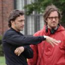 Andrew Shue and Davis Guggenheim, director of GRACIE. Photo by K.C. Bailey. © 2007 Picturehouse. - 454 x 302