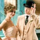 Lucas Grabeel and Olesya Rulin in HIGH SCHOOL MUSICAL 3 SENIOR YEAR.