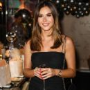Shelby Tribble – Style Cheat's Christmas Party in London - 454 x 649