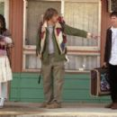 Mila Kunis as Michelle, Jon Heder as Orlie and Ben Gourley as Rick in First Independent Pictures' Moving McAllister.