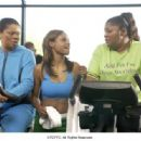 Kendra C. Johnson, Joyful M'Chelle Drake and Monique Imes in Fox Searchlight's Phat Girlz - 2006