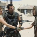 (l to r) Ali Larter, Oded Fehr and Milla Jovovich star in RESIDENT EVIL: EXTINCTION, a Screen Gems release. Photo credit: Van Redin. Motion Picture Photography © 2007 Constantin Film International GmbH. All Rights Reserved.