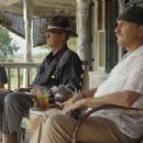 Haley Joel Osment with uncles Michael Caine and Robert Duvall