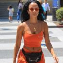 Draya Michele – Shopping in Beverly Hills