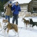 Cuba Gooding Jr. and Joanna Bacalso in Disney's Snow Dogs - 2002 - 454 x 303