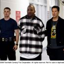 From left: Chris Evans, The Game and Keanu Reeves in STREET KINGS.
