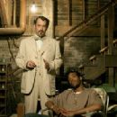 Tom Hanks and Marlon Wayans in The Ladykillers - 2004