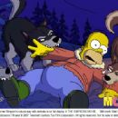 Homer Simpson's natural way with animals is on full display in THE SIMPSONS MOVIE. Still credit: Matt Groening