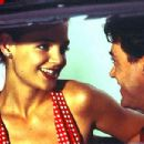 Katie Holmes and Robert Downey Jr. in The Singing Detective - 2003