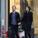 Anne Hathaway and Her Husband Adam Shulman Leaves Their Hotel In New York