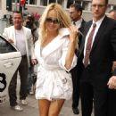 Pamela Anderson - Arriving At Roomers Hotel In Frankfurt, Germany, 14. 5. 2009.