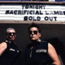 Christopher McDonald (OFFICER KOON) and Emilio Estevez (OFFICER POWELL) strike a pose in 'The L.A. Riot Spectacular.' Directed by Marc Klasfeld  -  Copyright ©2005 - 2006
