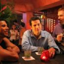 Wilson Cruz as Kelly, Jason Stuart as Clayton and Jonathan Bray as Todd in Film and Music Entertainment and TLA Releasing 'Coffee Date.' - 454 x 302