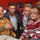 Bill Garland, Lane Garrison, Waylon Payne and Amy Garland in Crazy - 2006