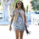 Stacy Keibler Out In Santa Monica
