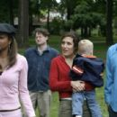 Elise (Gabrielle Union), Sarah (Lisa Edelstein) and Russell (Anthony Clark) in Peter Paige director Say Uncle - 2006
