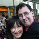 Director Freida Lee Mock and Tony Kushner in Wrestling with Angels