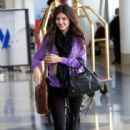 Victoria Justice arrived at Los Angeles International Airport yesterday afternoon, May 5