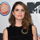 Shelley Hennig arrives at MTV's