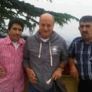 "Anupam Kher: ""The most beautiful discovery true friends make is that they can grow separately without growing apart.:)"""