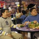 Bobby Lee as Aki Terasaki and Aris Alvarado as Hector Jimenez at the party in Kickin' It Old Skool - 2007