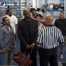 (L-r) MALIEEK W. STRAUGHTER as DeAngelo, BOW WOW as Kevin Carson, JASON WEAVER as Ray-Ray, TERRY CREWS as Jimmy The Driver, LESLIE JONES as Tasha, BRANDON T, JACKSON as Benny and VINCE GREEN as Malik in Alcon Entertainment's comedy 'LOTTERY TICKET - 454 x 302
