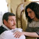 Tcheky Karyo as Aram and Arsinée Khanjian as Armineh in UGC Distribution 'The Lark Farm.' Photo U.Montiroli © Flach Film - 454 x 301