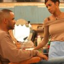 Dondre Whitfield as Ricky and Vivica A. Fox as Jenny in Codeblack Entertainment's The Salon