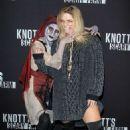 Sasha Pieterse – Knott's Scary Farm Celebrity Night Photocall in Buena Park - 454 x 681
