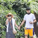 Reese Witherspoon and Jim Toth – Take a walk to the Farmshop in Brentwood