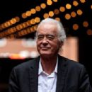 Jimmy Page attend the Rock Stars' Planning Battle Reaches Conclusion