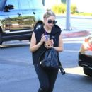 Ashley Benson – Seen out in West Hollywood